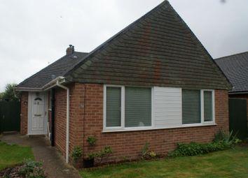 Thumbnail 3 bed bungalow to rent in Woodstock Road, Bedhampton, Havant