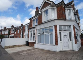 Thumbnail 3 bed flat to rent in Old Road West, Gravesend, Kent