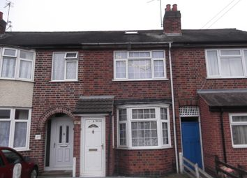 Thumbnail 3 bed terraced house for sale in Oliver Road, Leicester