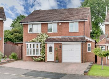 Thumbnail 4 bedroom detached house for sale in Thurloe Crescent, Rubery, Birmingham