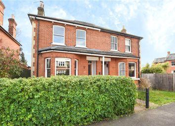 Thumbnail 4 bed semi-detached house for sale in Rusham Park Avenue, Egham, Surrey