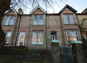 Thumbnail 2 bed terraced house for sale in Garland Road, Poole