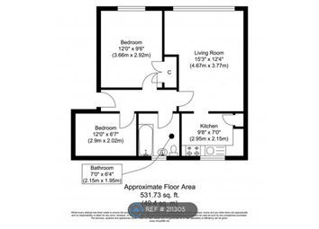 Thumbnail 2 bedroom flat to rent in Townsend Square, Sunderland