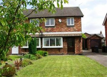 Thumbnail 3 bed semi-detached house to rent in Bramshaws Acre, Cheadle