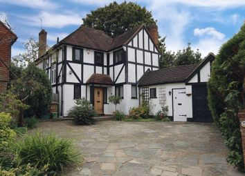 Thumbnail 3 bed detached house for sale in Woodcote Close, Epsom
