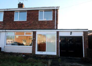 Thumbnail 3 bed semi-detached house to rent in Alexandra Road, Ashington
