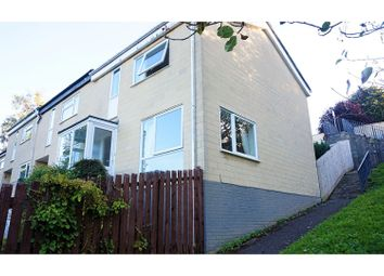Thumbnail 3 bedroom end terrace house for sale in Leigh Close, Bath
