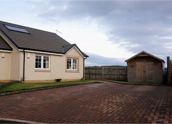 Thumbnail 2 bed semi-detached bungalow for sale in Gilmours Avenue, Blackford, Auchterarder