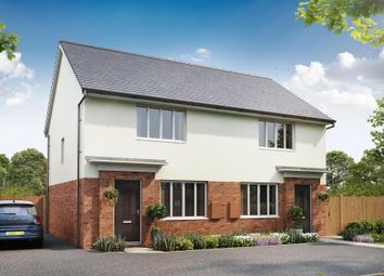 "Thumbnail 2 bedroom semi-detached house for sale in ""Roseberry"" at Godwell Lane, Ivybridge"