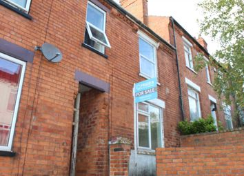 Thumbnail 2 bedroom terraced house for sale in Bernard Street, Lincoln