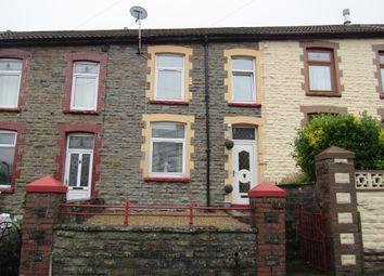 Thumbnail 3 bed terraced house for sale in Baglan Street, Pontygwaith