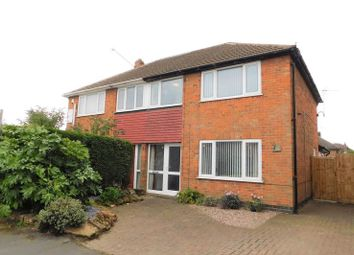 Thumbnail 3 bed semi-detached house for sale in North Avenue, Coalville