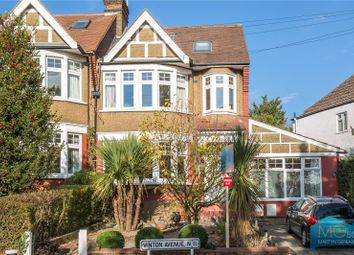 Thumbnail 2 bed flat for sale in Winton Avenue, London
