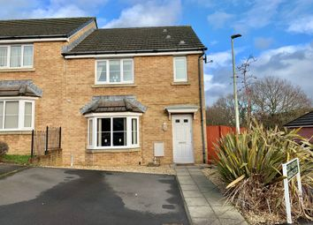 Thumbnail 3 bed semi-detached house for sale in Druids Close, Caerphilly