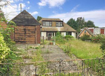 Thumbnail 3 bed bungalow for sale in Hever Road, West Kingsdown, Sevenoaks, Kent