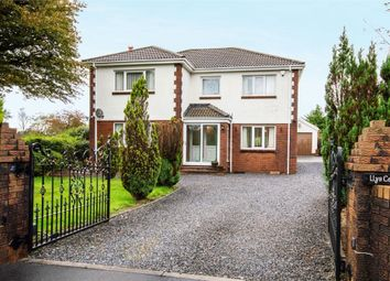 4 bed detached house for sale in Black Lion Road, Cross Hands, Llanelli, Carmarthenshire SA14