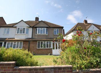 Thumbnail 3 bed semi-detached house to rent in Pelton Avenue, Belmont, Sutton