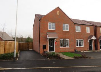 Thumbnail 3 bed semi-detached house for sale in Common Lane, Fradley, Lichfield