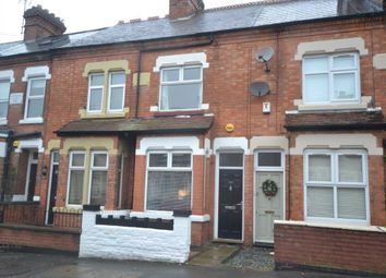 Thumbnail 2 bed terraced house for sale in Clarendon Park Road, Leicester