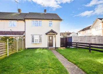 Thumbnail 3 bed end terrace house for sale in Wingfield Close, Brentwood, Essex