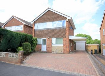 Thumbnail 3 bed detached house for sale in Ashbourne Drive, Silverdale, Newcastle-Under-Lyme