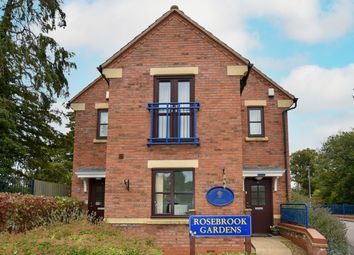 Thumbnail 2 bed flat for sale in Honeywell Close, Oadby, Leicester