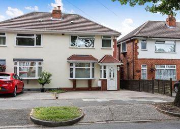 Thumbnail 3 bed semi-detached house for sale in Whitecroft Road, Sheldon, Birmingham, West Midlands