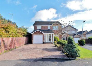Thumbnail 4 bed detached house for sale in Reay Gardens, Springbank Gardens, East Kilbride