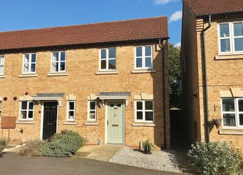 Thumbnail 2 bed semi-detached house for sale in Nero Way, North Hykeham, Lincoln