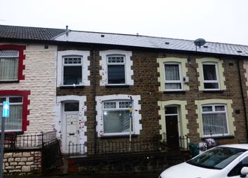 Thumbnail 3 bed terraced house for sale in Vivian Street, Tylorstown, Ferndale