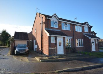 Thumbnail 3 bed semi-detached house for sale in Bloomfield Way, Carlton Colville, Lowestoft