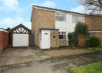 Thumbnail 2 bed semi-detached house for sale in Scotney Drive, Grantham