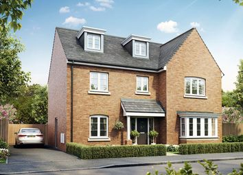 "Thumbnail 5 bed detached house for sale in ""The Collcutt"" at Court Road, Brockworth, Gloucester"