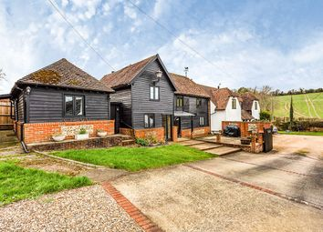 Thumbnail 4 bed detached house for sale in Scudders Farm, Valley Road, Fawkham, Kent