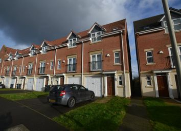 Thumbnail 3 bed town house to rent in Bestwood Close, Leicester