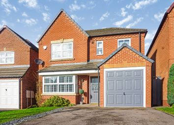 Thumbnail 4 bed detached house for sale in Skinners Way, Swadlincote
