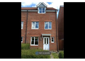 Thumbnail 3 bed end terrace house to rent in Waggoners Way, Hereford