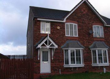 Thumbnail 3 bed semi-detached house to rent in Lindisfarne Avenue, Blackburn