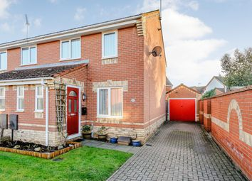 Thumbnail 3 bed semi-detached house for sale in Plummers Dell, Ipswich, Suffolk