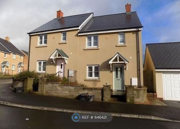 Thumbnail 3 bed semi-detached house to rent in Ffordd Y Grug, Coity, Bridgend