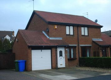 Thumbnail 2 bed semi-detached house to rent in Linden Road, Seaton Delaval, Whitley Bay