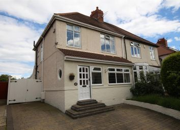Thumbnail 3 bedroom semi-detached house for sale in Elmsleigh Gardens, Cleadon, Cleadon