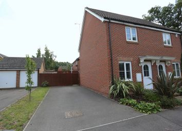 Thumbnail 2 bed semi-detached house for sale in Guernsey Way, Winnersh, Wokingham