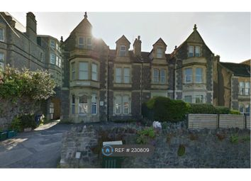 Thumbnail 2 bed flat to rent in Highbury Parade, Weston Super Mare