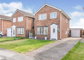 Thumbnail 3 bed detached house for sale in Langrick Avenue, Howden, Goole