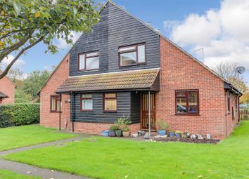 Thumbnail 1 bed semi-detached house for sale in Weaverdale, Shoeburyness, Southend-On-Sea