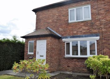 Thumbnail 2 bed semi-detached house for sale in Fern Drive, Cramlington