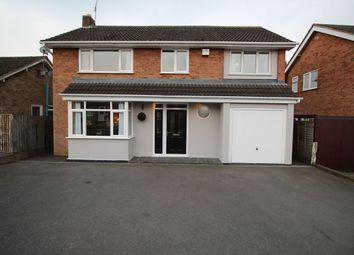 Thumbnail 4 bedroom detached house for sale in Trent Road, Bulkington, Bedworth