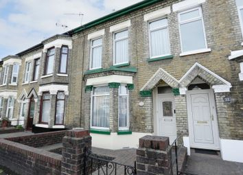 Thumbnail 3 bed terraced house for sale in Buckland Avenue, Dover