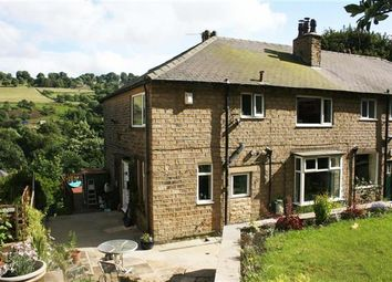 Thumbnail 3 bed end terrace house for sale in High Trees, Lower Brockwell Lane, Triangle, Sowerby Bridge